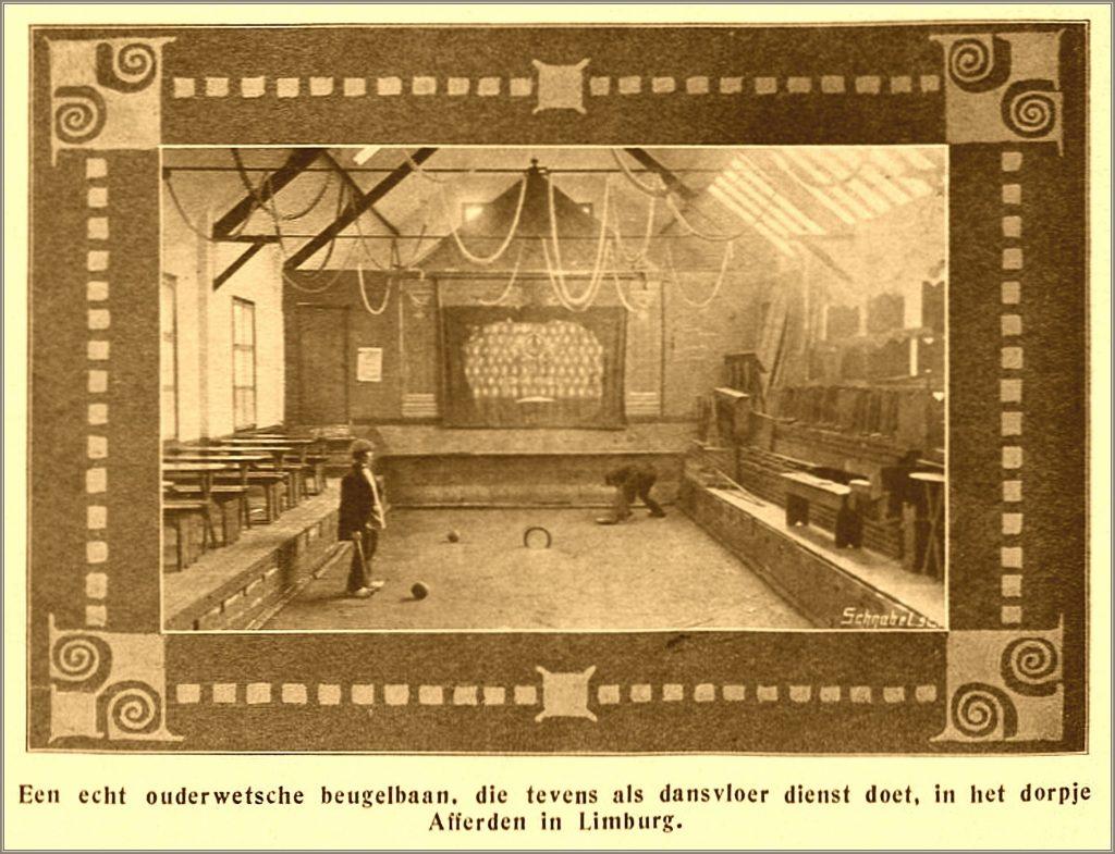 Dorpsarchief Beugelbaan Raijmakers 1913