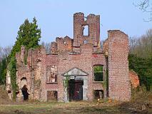 Ruïne Bleijenbeek weer zichtbaar