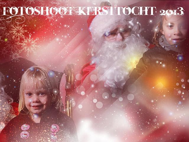 Fotoshoot Kersttocht 2013