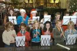 Jonge muzikanten debuteren in Kerstconcert