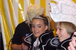 Jeugdprins Freek en jeugdprinses Milou van de Sneuzels