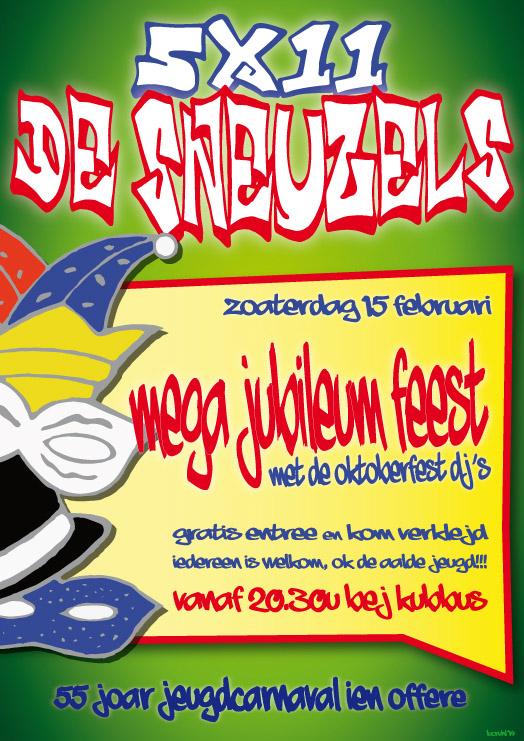 poster_sneuzels_jubileumfeest_2014