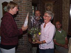 Anneke 50 jaar lid van DWS Afferden