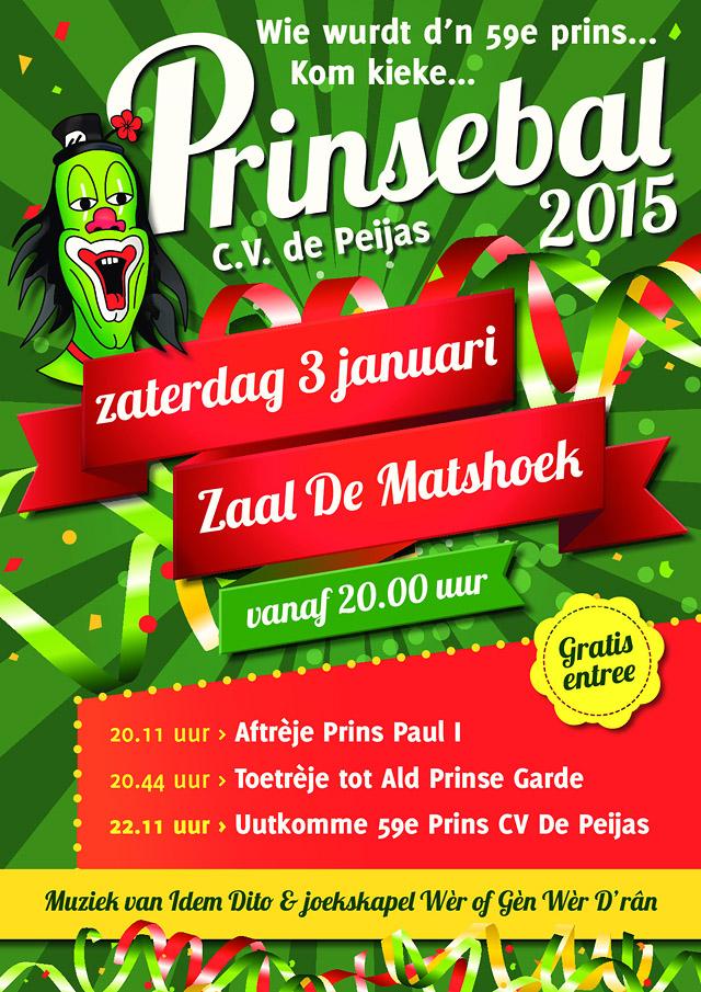 Prinsebal 2015