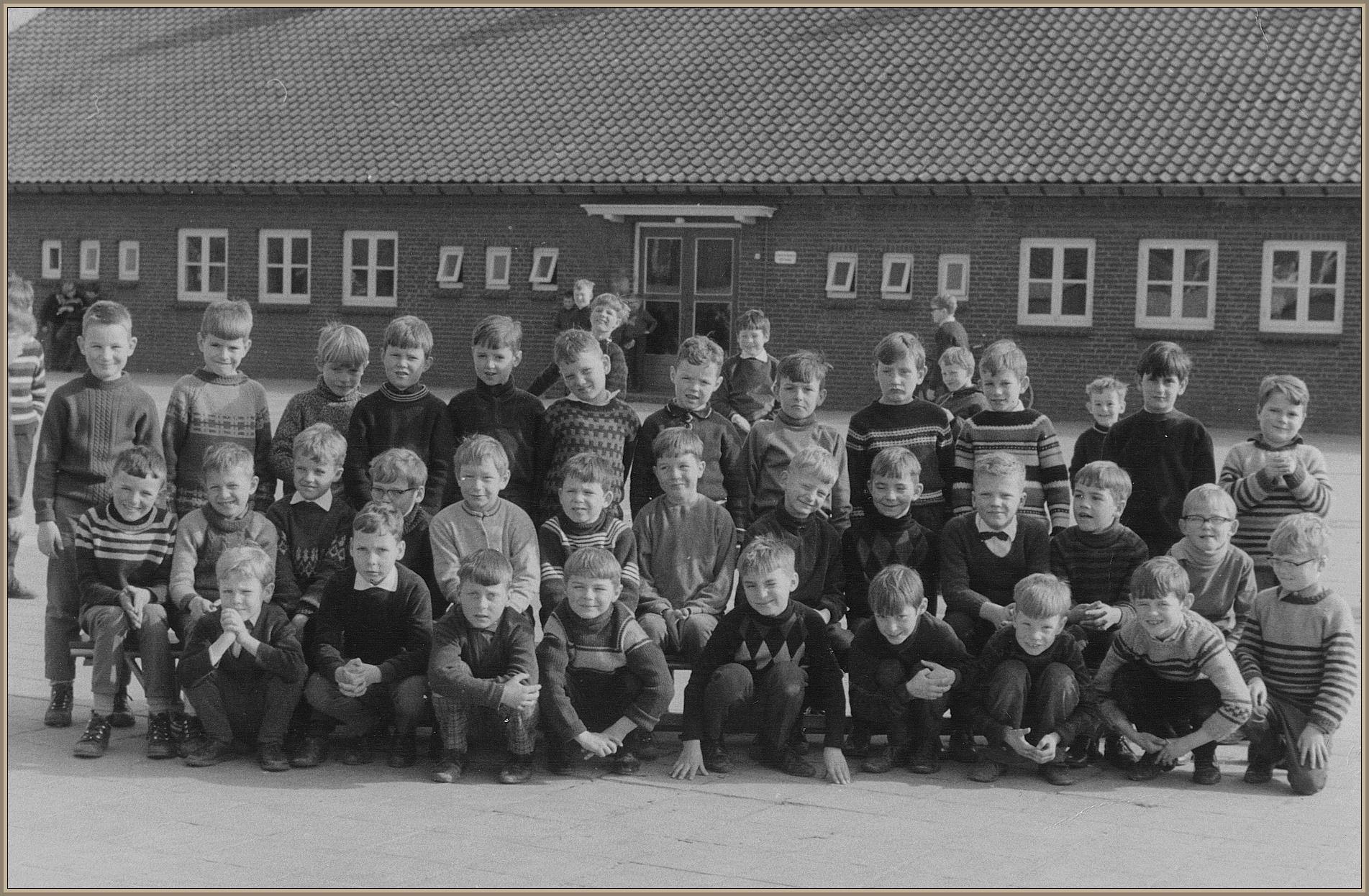 Klassefoto jongensschool 1968