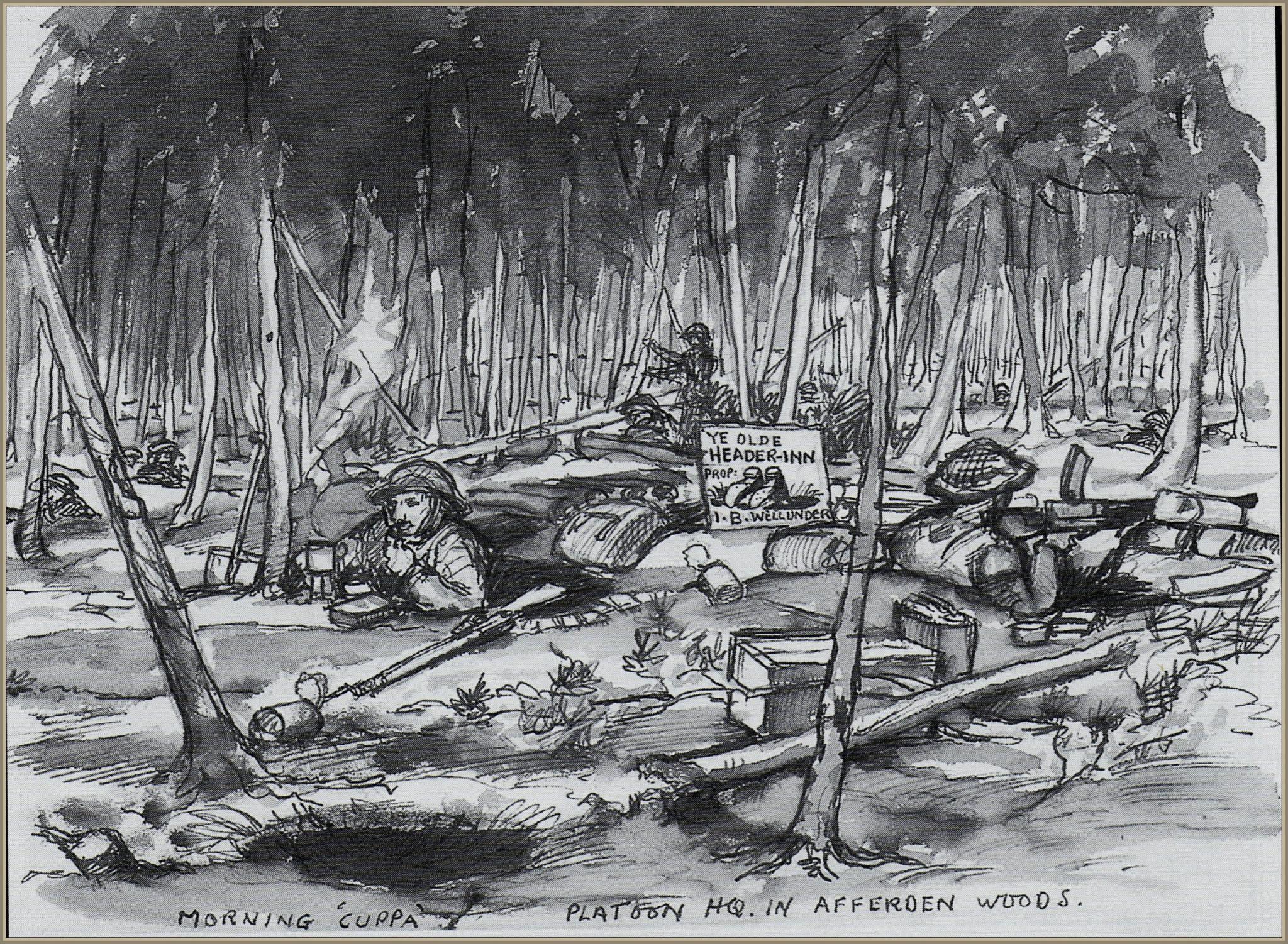 Bevrijding van Afferden 1945