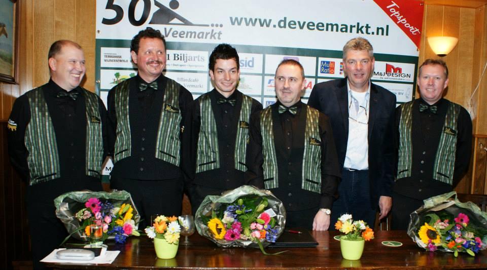 A1 biljarts/de veemarkt, met Raymund Swertz, begint titelrace in Ottersum