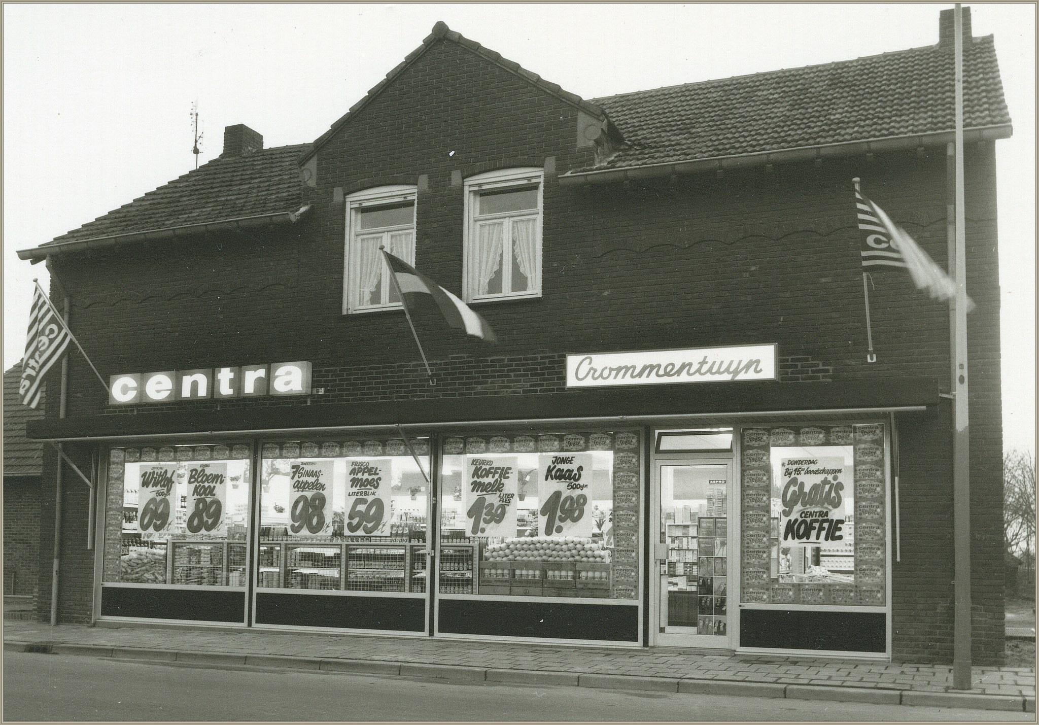 Winkel van Crommentuyn 1969