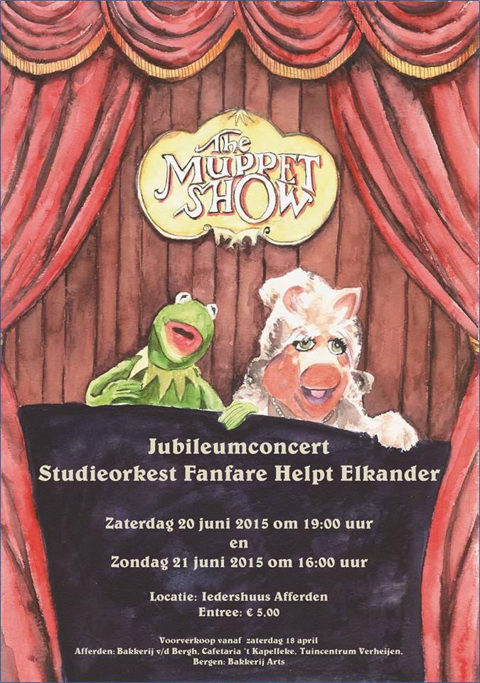 Jubileumconcert studieorkest fanfare Helpt Elkander