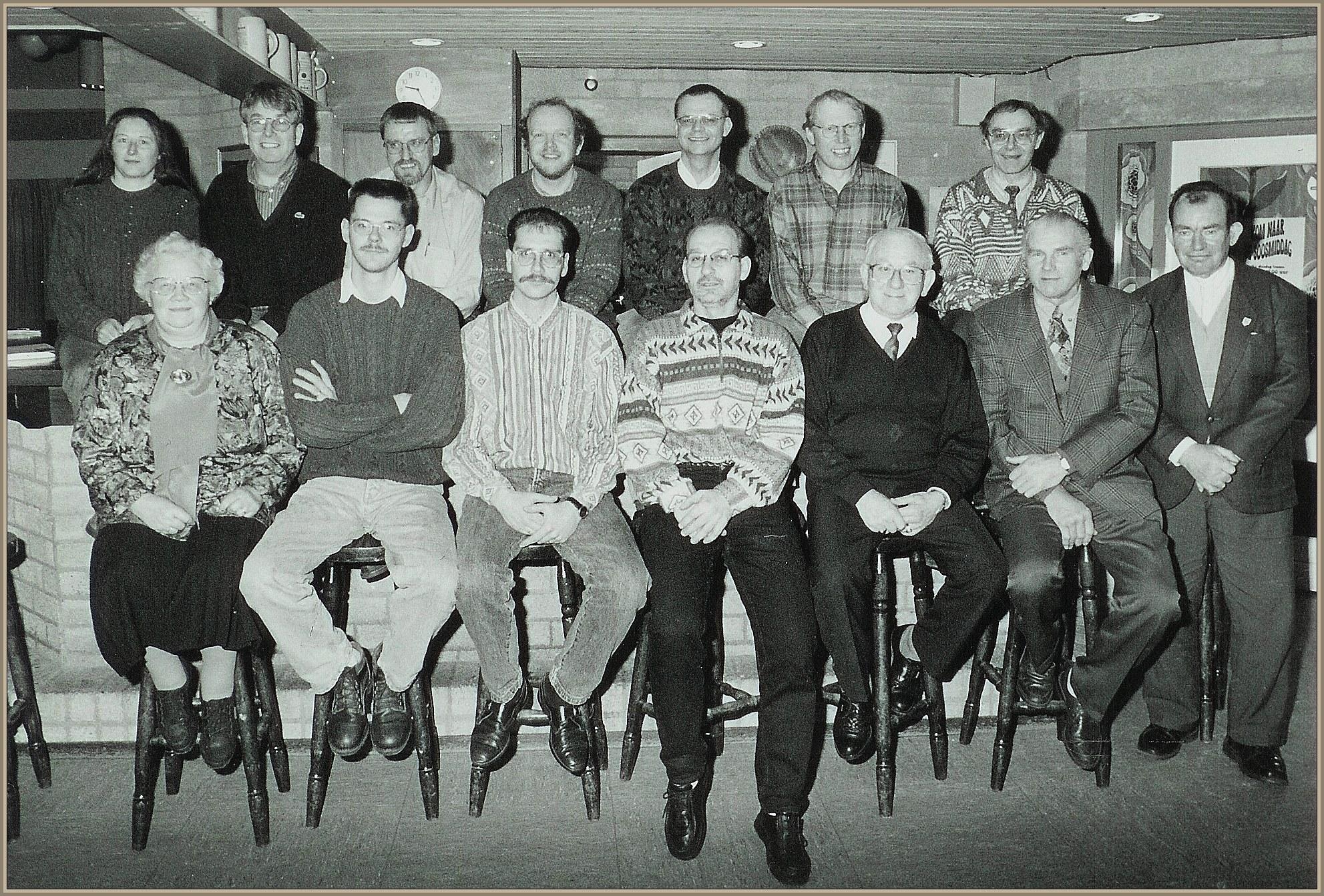 Dorpsraad jaren 90