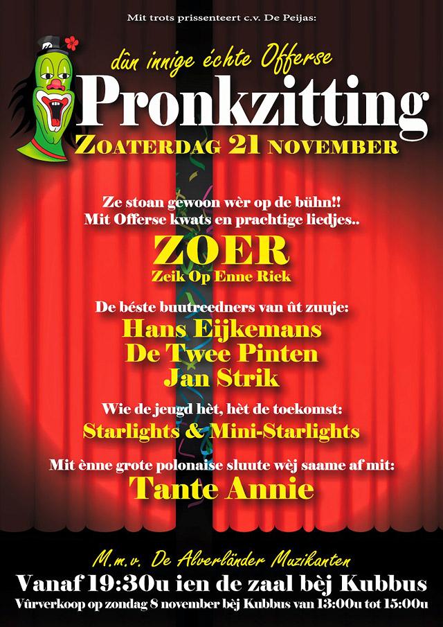 poster pronkzitting 2015