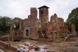 Bijzondere werkzaamheden bij ruïne Bleijenbeek