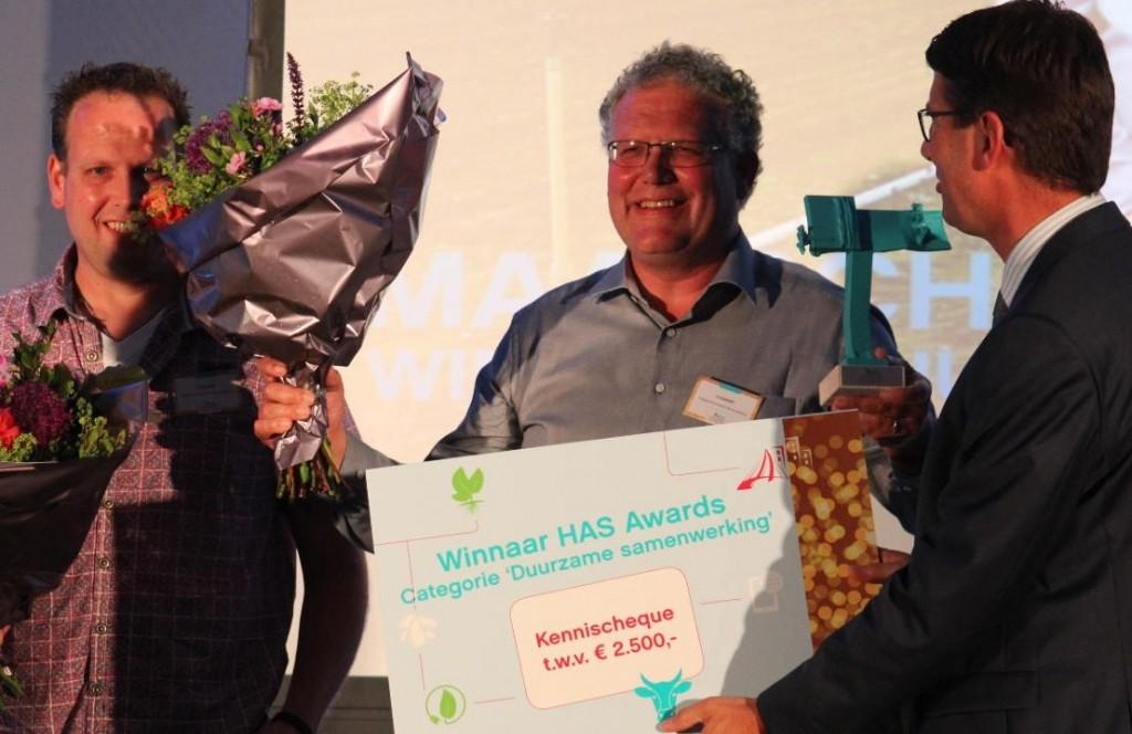 Plantenkwekerij Lucassen award juni 2016