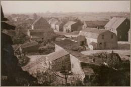 Dorpsgezicht vanuit oude kerk net na 2e wereldoorlog