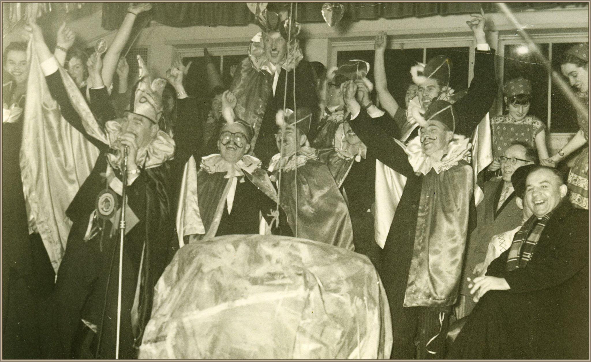 De Knikkers, carnaval jaren 50