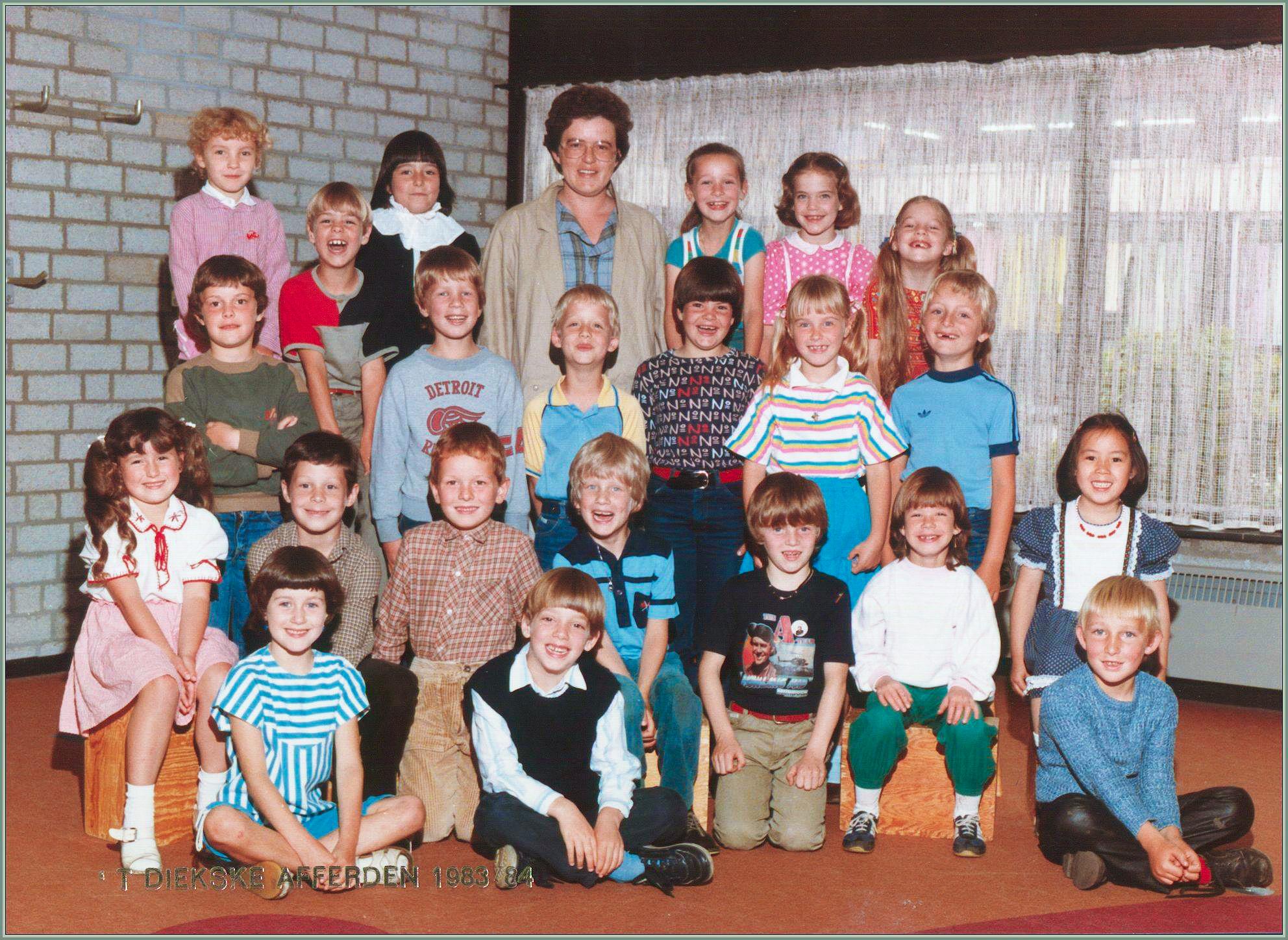 Klassefoto 1983-1984