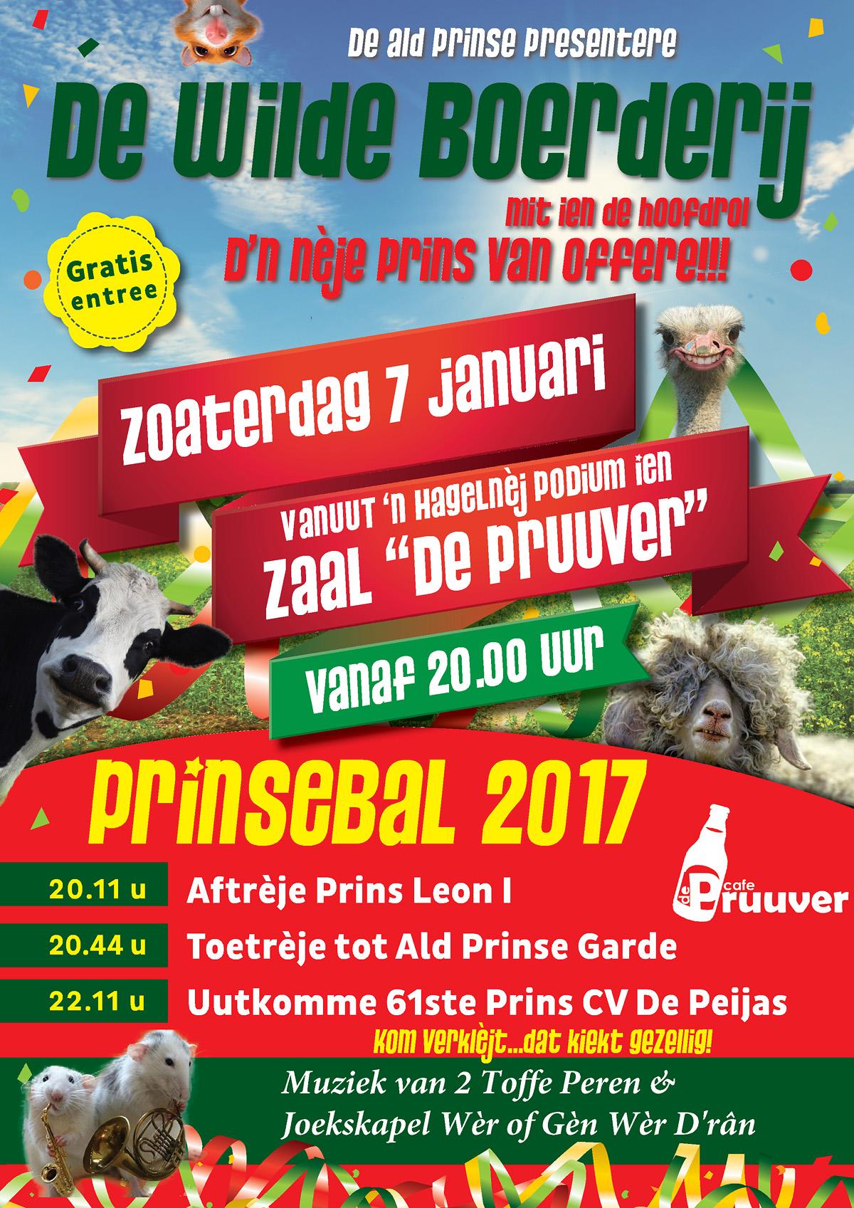 Prinsebal 2017