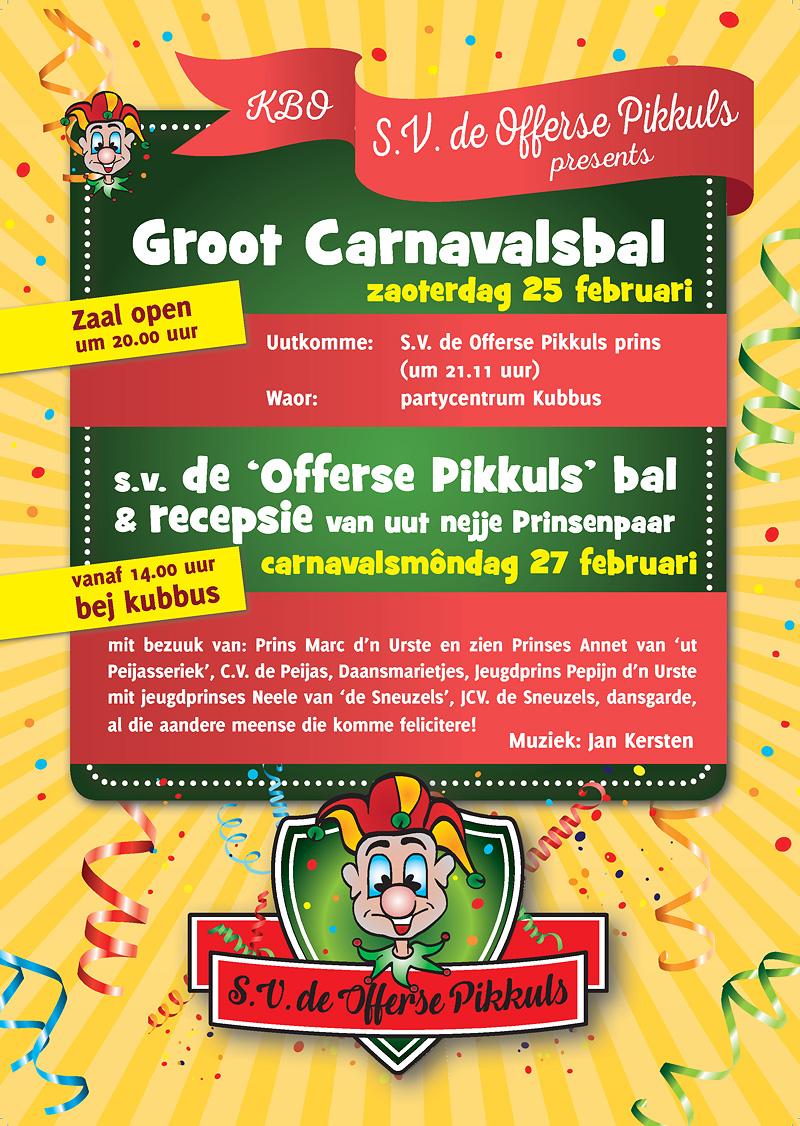 Carnaval 2017 met 'De Pikkuls'