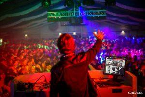 HVOO 2016 foto DJ tent
