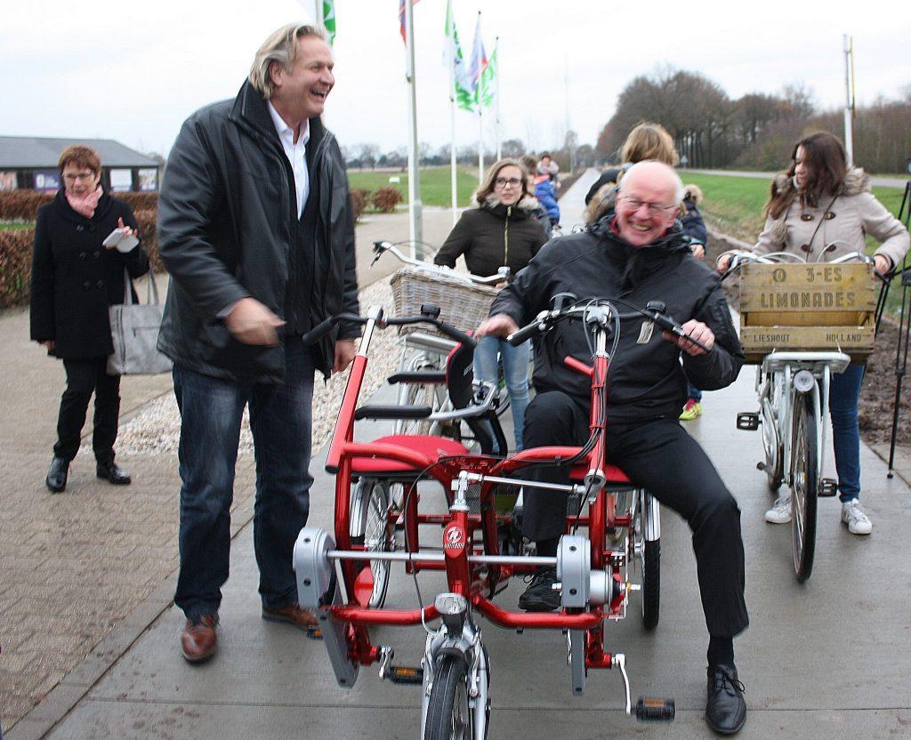 Opening Fietspad Afferden Siebengewald 2015