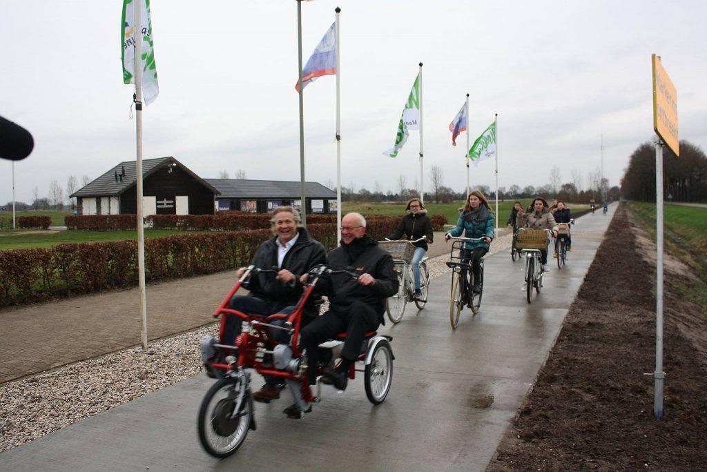 Opening Fietspad Afferden Siebengewald 2015-3