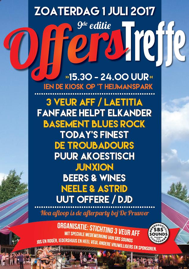 Poster Offers Treffe 2017