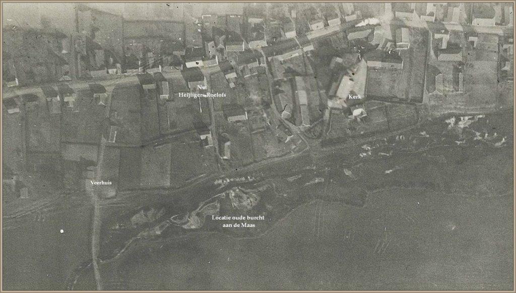 Dorpsarchief luchtfoto jaren 20