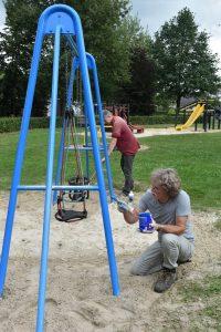 Speeltuin onderhoud 2017