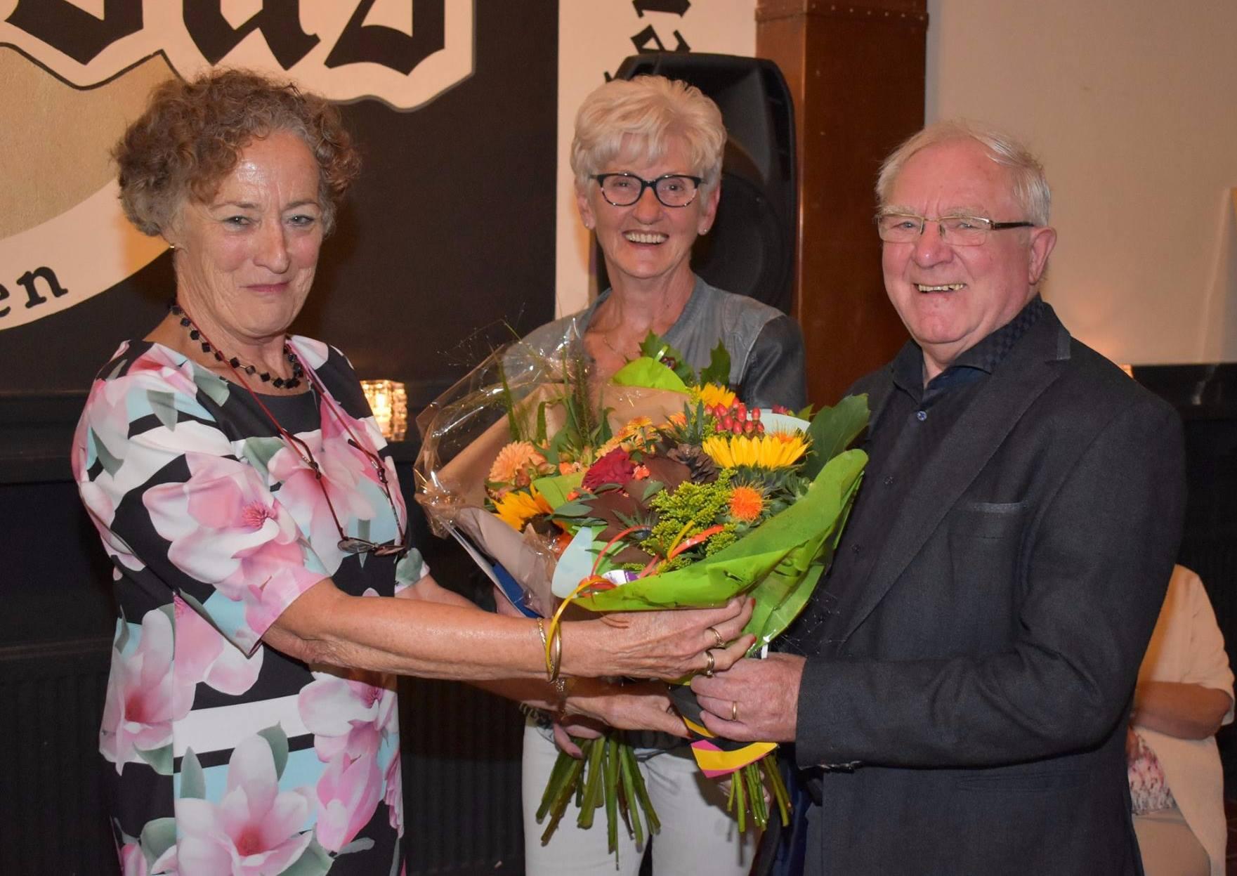 Gouden Zonnebloemspeld voor Mimi Heijnemans