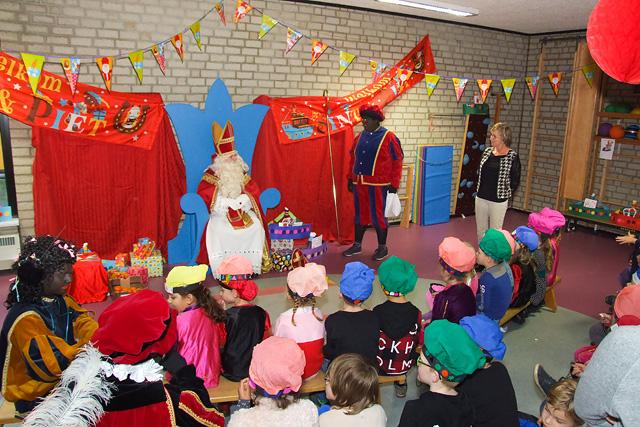 Sinterklaasviering op 't Diekske