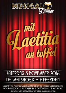 Dinnershow poster