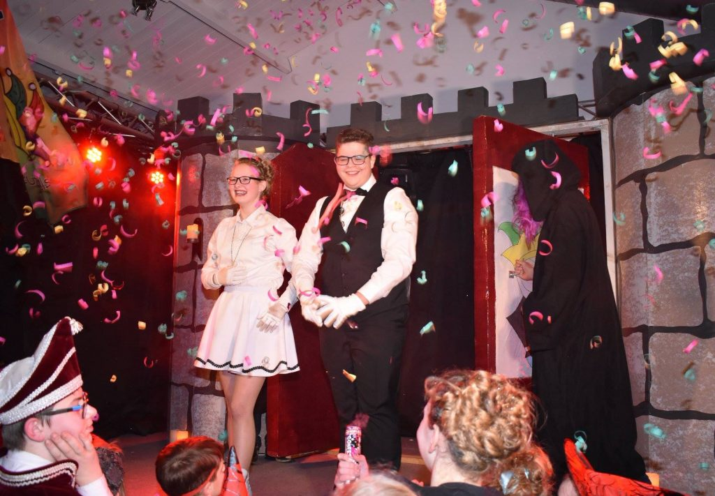 Jeugdprins Billy en -prinses Yvonne 2018