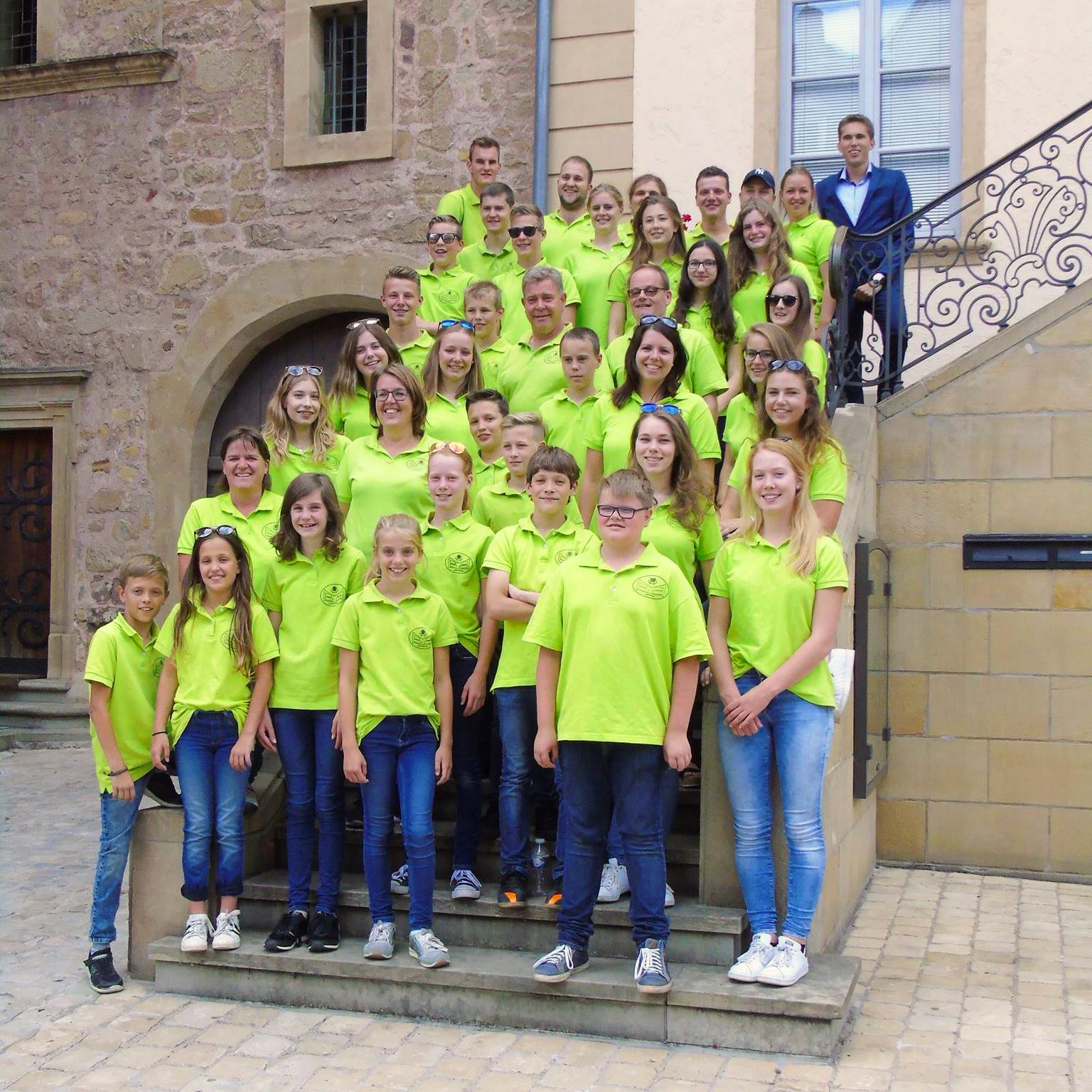 Uitwisselingsconcert studieorkest fanfare Helpt Elkander