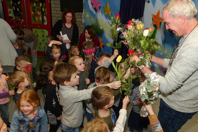 Kinderen Diekske nemen afscheid van Rob van Ham