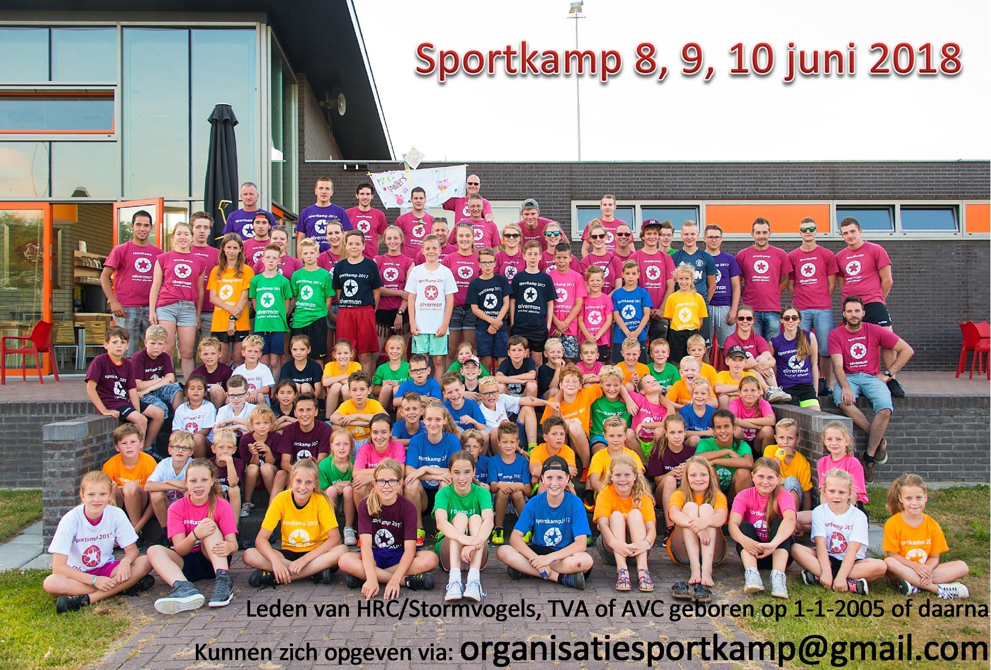 Sportkamp 2018