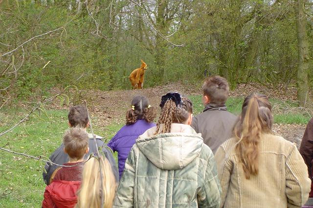 Paaseieren zoeken buurtvereniging De Milling 2004