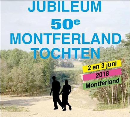 DWS wandelt 50e Montferlandtocht op zondag 3 juni 2018