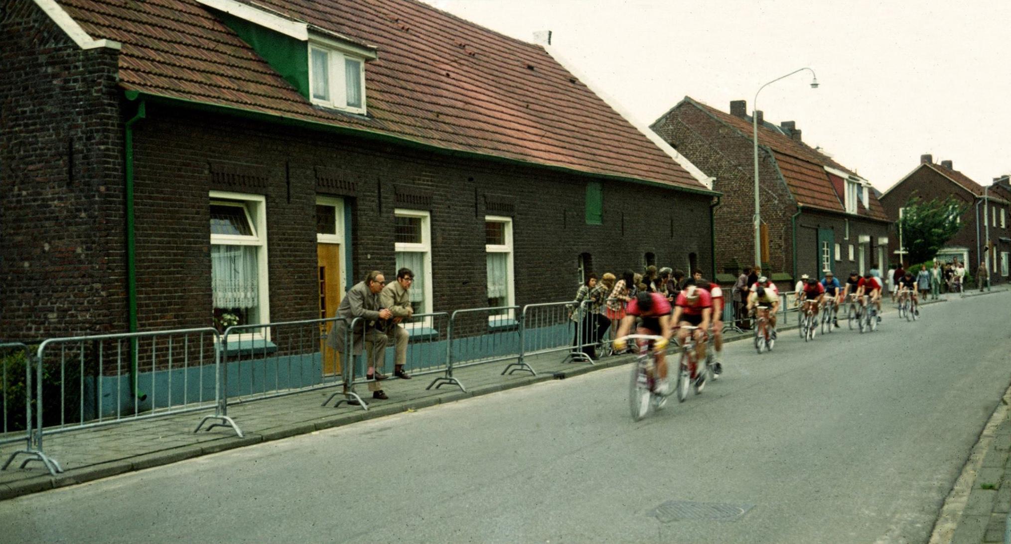 Wielerronde in Afferden 1972