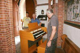 Orgel al een vast plekje in de Mariakapel