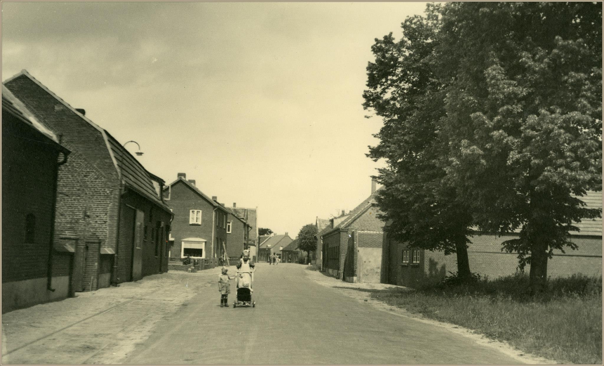 Dorpsstraat rond 1950