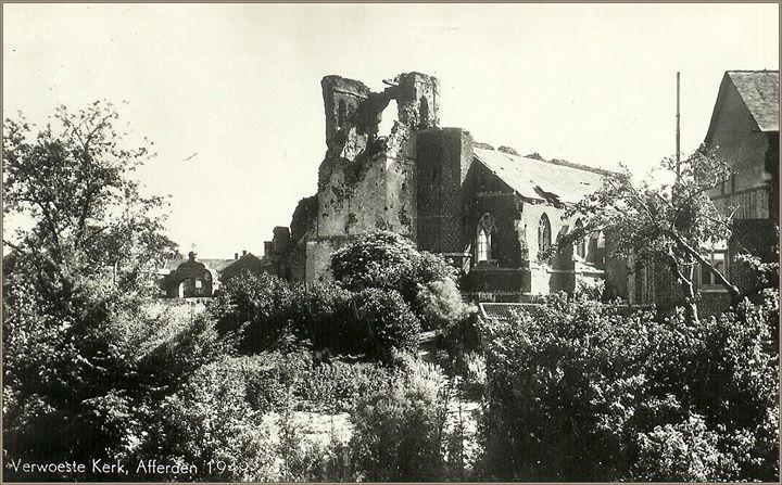 Ergerlijk vandalisme bij de oude kerk