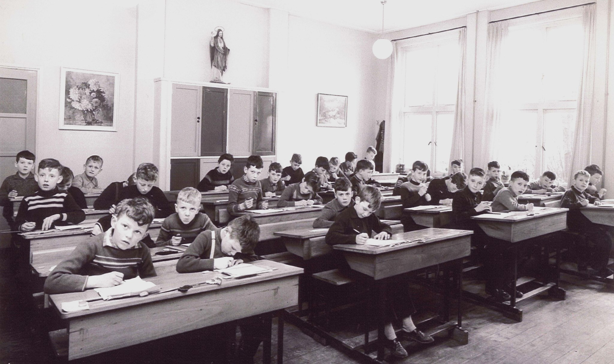 3e en 4e Klas jongensschool 1961