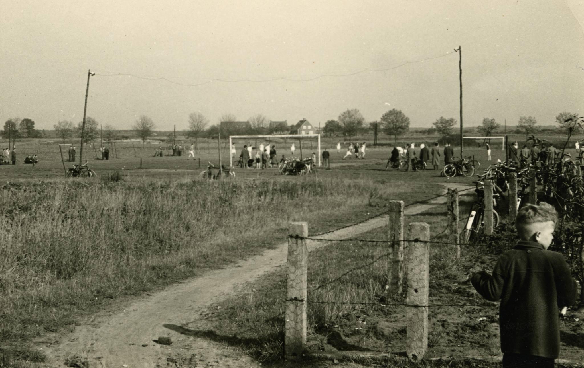 Voetbalveld HRC 1957