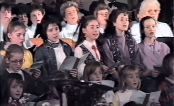 Video: Kerstconcert 1989
