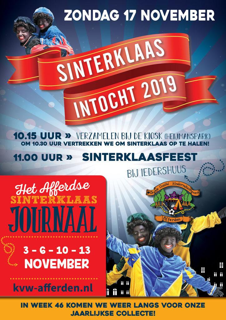 Sinterklaasintocht 2019 Afferden Limburg Nl