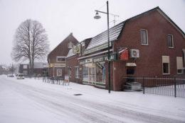Fotoalbum: 1e sneeuw in 2019
