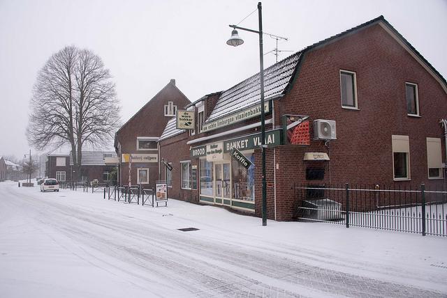 1e sneeuw in 2019